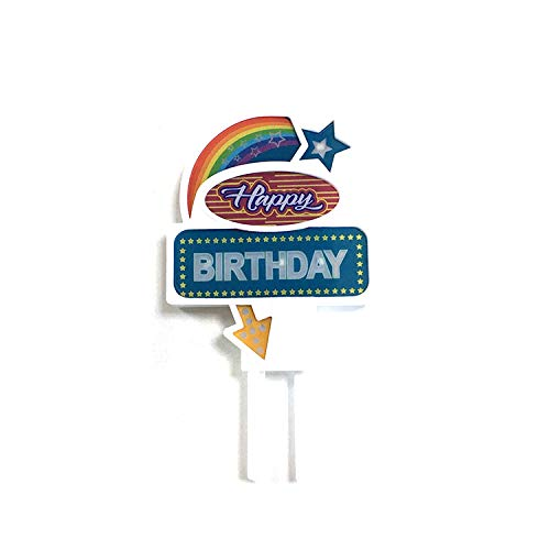 [USA-SALES] Flashing Cake Topper