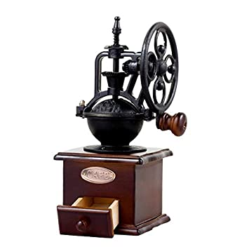 DecentGadget® máquina de café en grano puro caja de recogida de polvo de café de