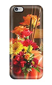 Premium Protection Fall Flowers Case Cover For Iphone 6 Plus- Retail Packaging