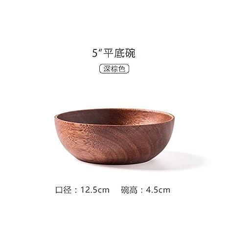 Dulce cocina - Cuenco de madera de madera verde cubertería: Amazon.es: Hogar