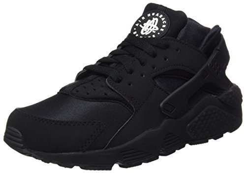 NIKE Air Huarache, Scarpe Running Uomo Nero (Black/White)