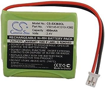 Cameron Sino batería para teléfono inalámbrico V30145-K1310-X382 S30852-D1751-X1 para Siemens Gigaset E40, Gigaset E45, Gigaset E450, Gigaset E450 ECO, Gigaset E455, Gigaset E455 SIM Twin, E450 SIM, E455 ECO: Amazon.es: Electrónica