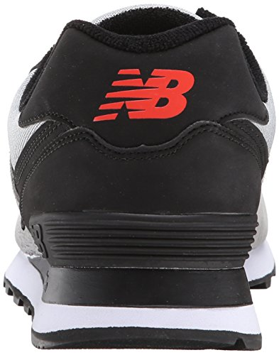 Grey Sneaker Black New Balance Uomo NBML574MON 1vxxSCq