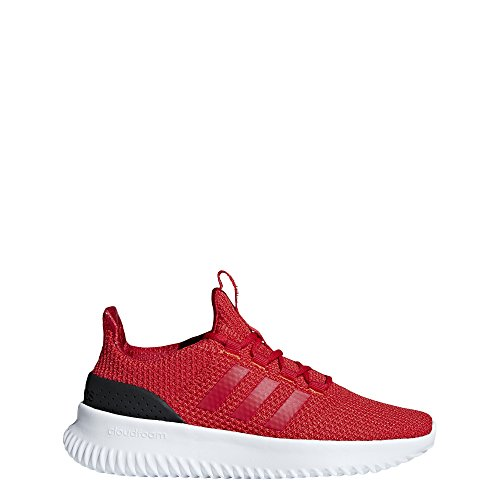 adidas Kids' Cloudfoam Ultimate Running Shoe, Red/Scarlet/Black, 6 M US Big Kid