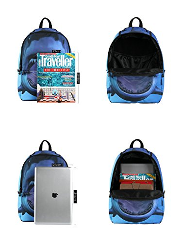 42e0b8f0dafc Jual Hynes Eagle Printed Kids School Backpack Cool Children Bookbag ...