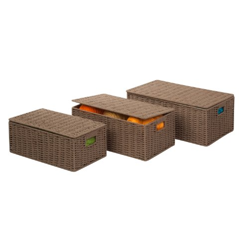 Honey Can Do STO 03557 Paper Basket 3 Pack