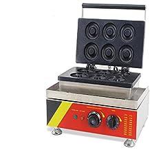 110V/220V Donut Machine Waffle Cooker 6 Pieces Doughnut Maker (220V AU/EU plug)
