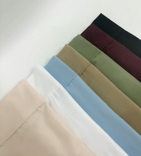 Multiple Colors - Super Single Waterbed Sheet Set- 1500 Collection- Super Soft- Wrinkle Resistant Microfiber with Pole Attachments-Khaki - Exclusively by BlowOut Bedding RN#142035