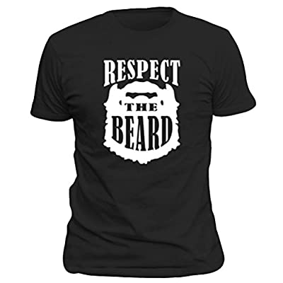 OKnown Adult Respect The Beard T-Shirts Funny Sarcastic Comment Loading Mens Tee