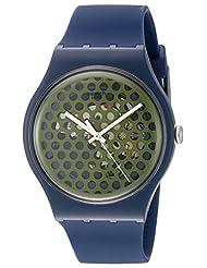 Swatch Men's SUON113 Analog Display Quartz Blue Watch
