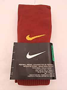 Nike 1 Pair Unisex Tall Football Socks, Size Large, Brick