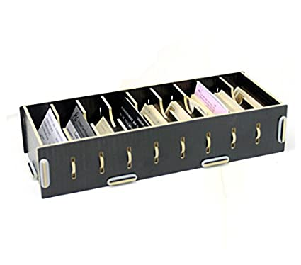 Buy Black Diy Wood Business Card Holder Elife Black Wood Diy 9