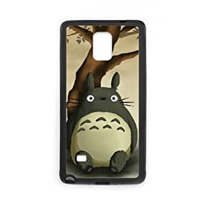 Samsung Galaxy Note 4 Cell Phone Case Black My Neighbor Totoro EJB Unique Durable Case
