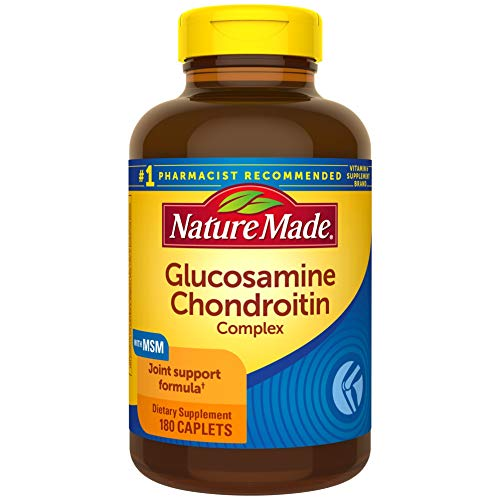 Nature Made® Glucosamine Chondroitin Complex with MSM, 180 Caplets for Joint Support†