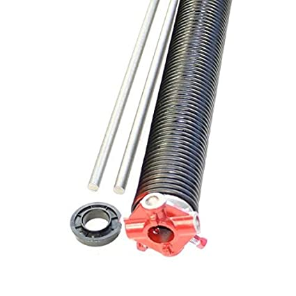 "Right Wind 218 X 2/"" X All Lengths Garage Door Torsion Spring w// Winding Bars"