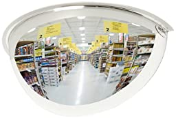See All PV18-180 Panaramic Full Dome Plexiglas Security Mirror, 180 Degree Viewing Angle, 18\
