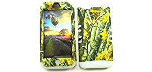 APPLE IPHONE 5C CASE (CAMO BRANCH SNAP + White SKIN), SHOCKPROOF BUMPER COVER FOR IPHONE 5C, HIGH IMPACT DUAL LAYER PROTECTIVE HARD & SOFT RUBBER HYBRID - WH-WFL027 CELLPHONE [ACCESSORIES N MORE]