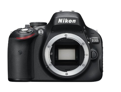 Nikon D5100 16.2MP CMOS Digital SLR Camera with 3-Inch Vari-Angle LCD Monitor (Body Only) by Nikon