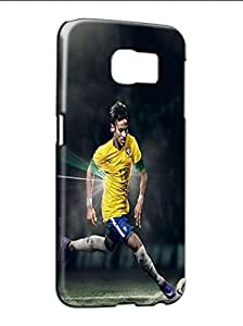Popular Pattern Samsung Galaxy S6 Phone Case Funda Cover Neymar Fc Player Design Para Girls Famous Durable Hard Bumper
