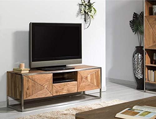 CASABLANCA REUS Mueble TV Madera Acacia (145x40x50cm.): Amazon.es: Hogar