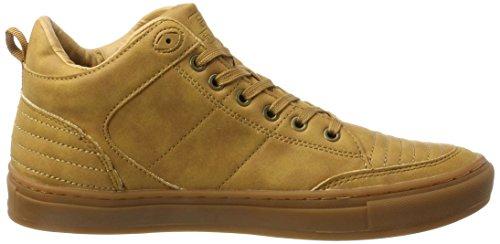 Mid Herren Hohe Knights British Tudor Braun Sneaker honey
