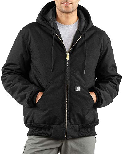 Carhartt Men's Arctic Quilt Lined Yukon Active Jacket,Black,X-Large