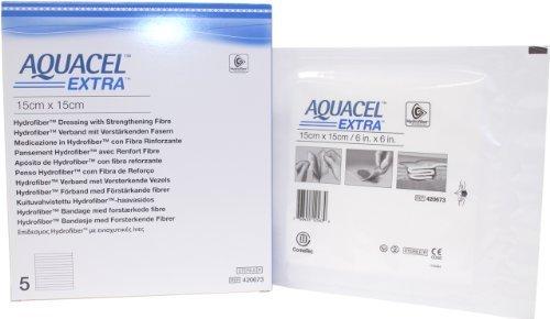 (New and Improved AQUACEL EXTRA Hydrofiber dressing 6