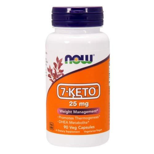 Dhea 25 Mg 50 Caps - Now Foods 7-KETO, 90 Caps, 25 mg