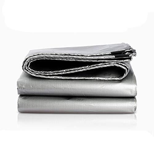 Telo impermeabile argentoo spessa crema solare resistente tela a trama trama trama fitta e polvere tela cerata, giardinaggio campeggio all'aperto, multiuso, più dimensioni (dimensioni   10X12m) B07HMNK2DD 10X12m | una vasta gamma di prodotti  | Moderno Ed Ele 3b4e15