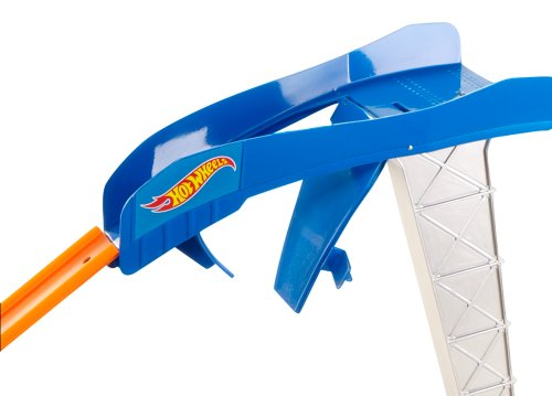 Hot Wheels Double Jump Showdown Track Set
