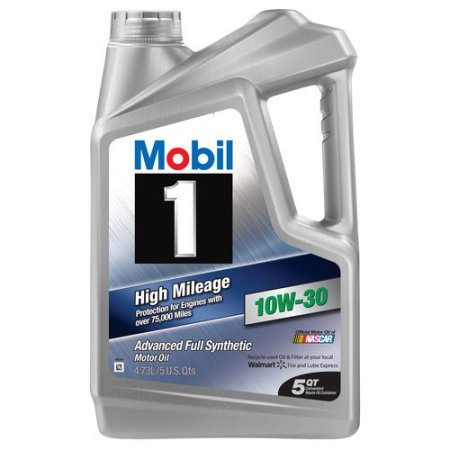 Mobil 1 (120769) High Mileage 5W-30 Motor Oil - 5 Quart