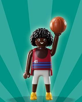 Playmobil Figura Niños Serie 2 Nº 5 # jugador de baloncesto ...