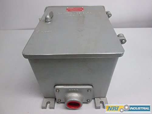 NEW GAI-TRONICS 732-101 EXPLOSION PROOF 14X10X9 IN ELECTRICAL ENCLOSURE D268508