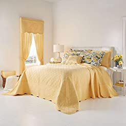 BrylaneHome Florence Oversized Bedspread...