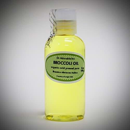 Premium Broccoli Seed Oil Cold Pressed Pure & Organic 4 oz