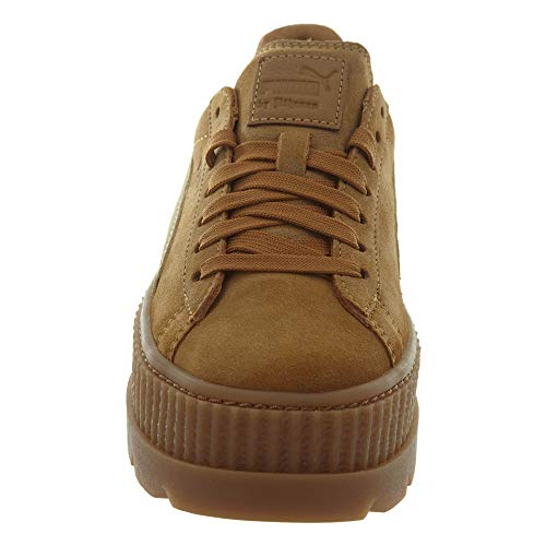 PUMA 5 Brown B Cleated US Lark Suede Creeper Golden Women's 7 ZOrZxgqwUB