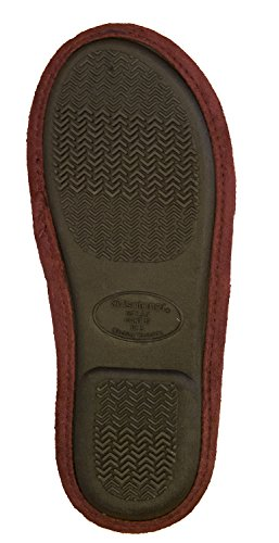 Carmen Clog Isotoner Microsuede Women's Henna 4wxBY