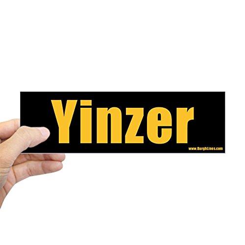 YINZER - 10x3 Bumper Sticker