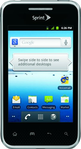 LG Optimus Elite, Black 4GB (Sprint) by LG