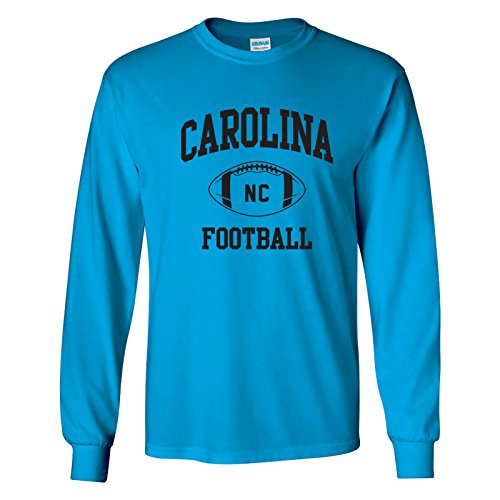 Carolina Classic Football Arch American Football Team Long Sleeve T Shirt - Small - ()