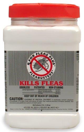 Fleabusters Rx for Fleas Plus 3Lb Kills...