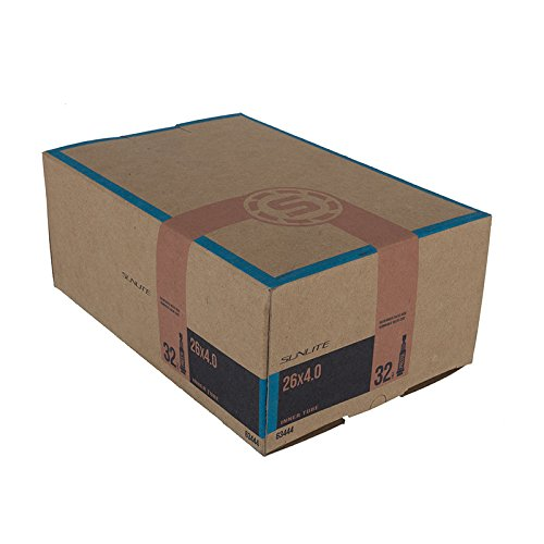 Sunlite Standard Presta Valve Tubes, 26 x 4.0 / 32mm, Black