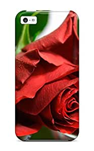 For ZippyDoritEduard Iphone Protective Case, High Quality For Iphone 5c Flower Skin Case Cover