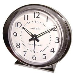 Westclox 11611 Authentic 1964 Baby Ben Classic Keywound Alarm Clock