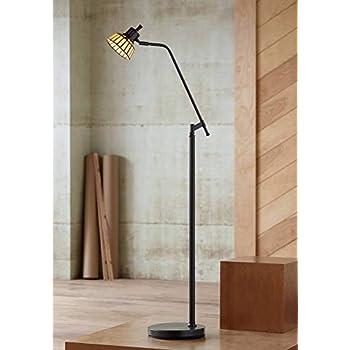 Meyda Tiffany 65947 Prairie Mission Adjustable Floor Lamp