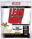 Labrada Nutrition Lean Body - Vanilla Ice Cream - Box of 80 Packets - 2.78 oz (79 g) each