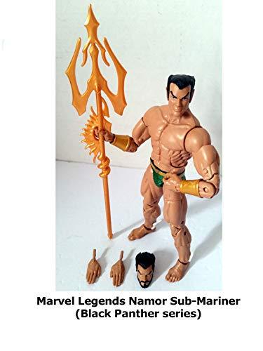 Clip: Marvel Legends Namor Sub-Mariner (Black Panther series) ()