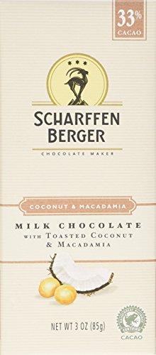 Scharffen Berger Chocolate Bar, 1 Ounce Packages (Pack of 9)