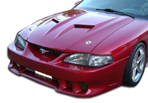 Duraflex ED-CIG-017 Mach 2 Hood - 1 Piece Body Kit - Fits Ford Mustang 1994-1998
