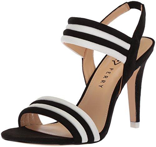 Katy Perry Women's The Alexxia Heeled Sandal, Black, 11 Medium US